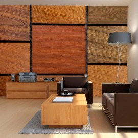 Fotomural - Wooden cubes