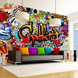 Fotomural - Colorful Graffiti