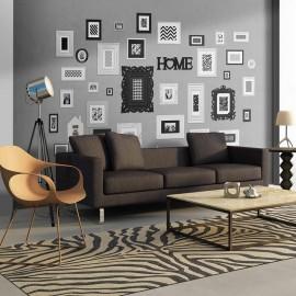 Fotomural - Wall full of frames