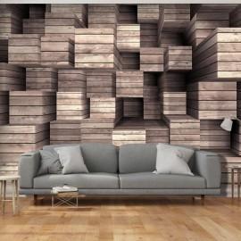 Fotomural - Wooden Finesse