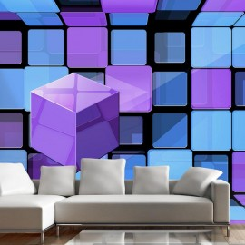 Fotomural - Rubik's cube: variation