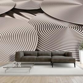 Fotomural - Copper Spirals