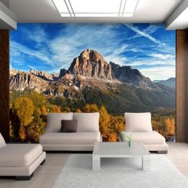 Fotomural - Vista panorâmica da Dolomitas italianas