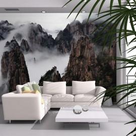 Fotomural - Mar de nuvens na Montanha Huangshan, China