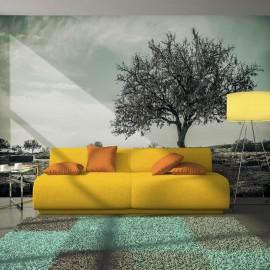 Fotomural - árvore - vintage