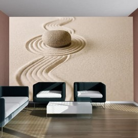 Fotomural - Zen sand garden