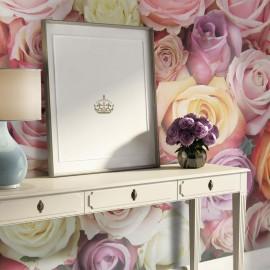 Fotomural - Pastel roses