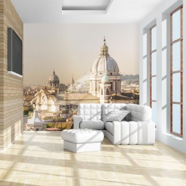 Fotomural - Rome - bird's eye view