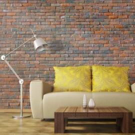 Fotomural - Parede de tijolos