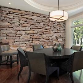 Fotomural - Natural parede de pedra