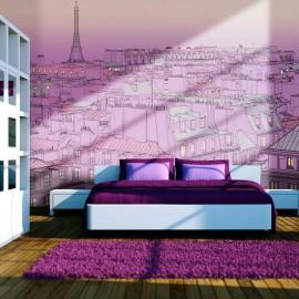 Fotomural - Sexta-feira à noite em Paris
