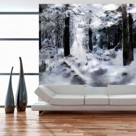 Fotomural - Winter forest