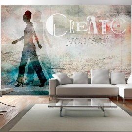Fotomural - Create yourself