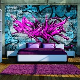 Fotomural - Anonymous graffiti