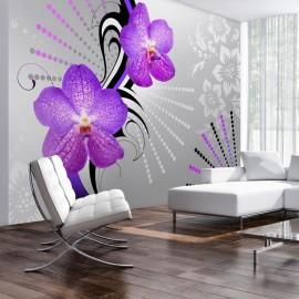 Fotomural - Vibraciones violeta