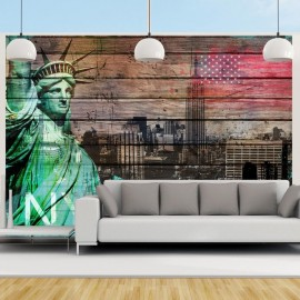Fotomural - NYC symbols