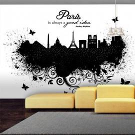 Fotomural - Paris is always a good idea