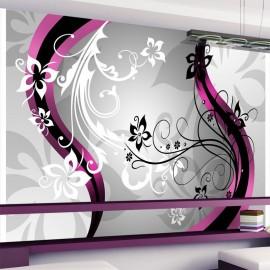 Fotomural - Art-flowers (pink)