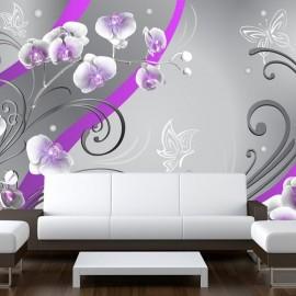 Fotomural - Orquídeas púrpura - variación