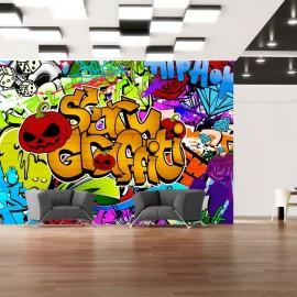Fotomural - Scary graffiti
