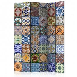 Biombo - Biombo: mosaico de color