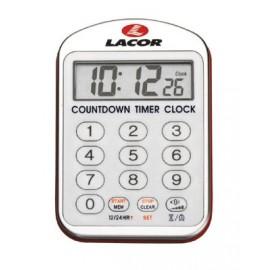 Reloj de cocina con alarma de Lacor