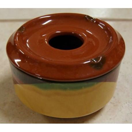 Cenicero artesanal de Cerámica