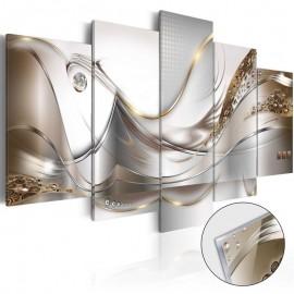 Cuadro acrílico - Golden Flight [Glass]