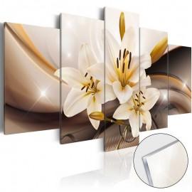 Quadro acrílico - Shiny Lily [Glass]