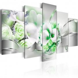 Cuadro - Emerald Bouquet