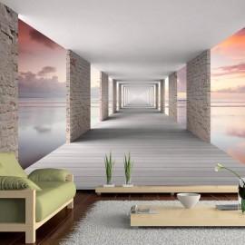 Papel de parede autocolante - Walk in the Sky
