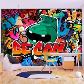 Papel de parede autocolante - Be Cool