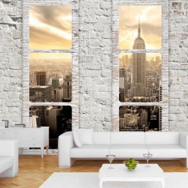Papel de parede autocolante - New York: view from the window