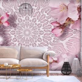 Papel de parede autocolante - Pastel Mandala
