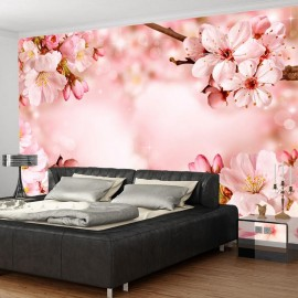 Fotomural autoadhesivo - Magical Cherry Blossom