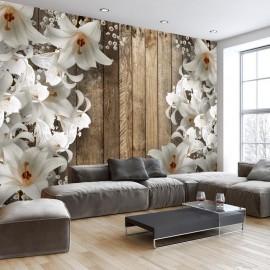 Papel de parede autocolante - Lilac Garden