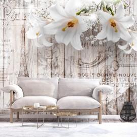 Papel de parede autocolante - Parisian Lilies