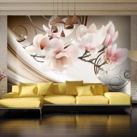 Fotomural autoadhesivo - Waves of Magnolia