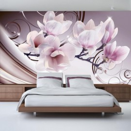 Papel de parede autocolante - Meet the Magnolias