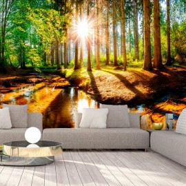 Papel de parede autocolante - Marvelous Forest