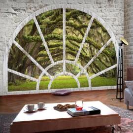 Papel de parede autocolante - Window to Secret Forest