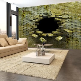 Papel de parede autocolante - Spellbound bricks