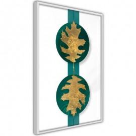 Póster - Gilded Oak Leaves