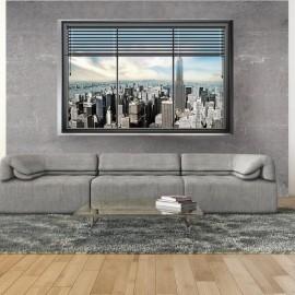 Fotomural - Mundo fuera de la ventana