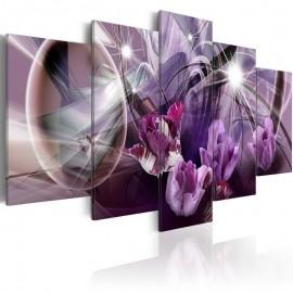 Cuadro - Purple of tulips