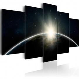 Cuadro - Planeta azul - Tierra