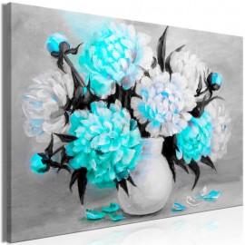 Cuadro - Fragrant Colours (1 Part) Wide Blue