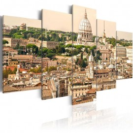 Quadro - The roofs of the Eternal City