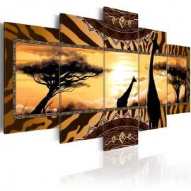 Quadro - African giraffes