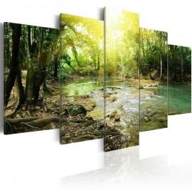 Cuadro - Río del bosque